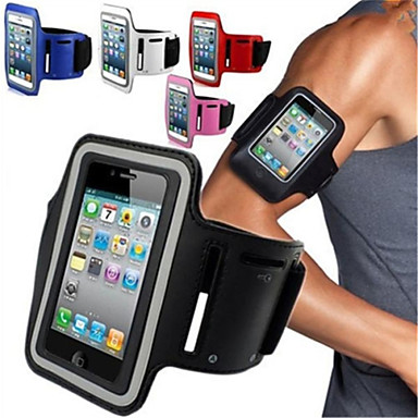 maylilandtm gym kjører sport armbindet armbåndet tilfelle dekke for iPhone 5 / 5s / 4 / 4s