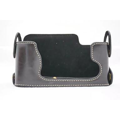 dengpin® Пу кожа половина камера кейс сумка чехол подходит для Fujifilm X-E1 х-е2 xe1 XE2 (ассорти цветов)