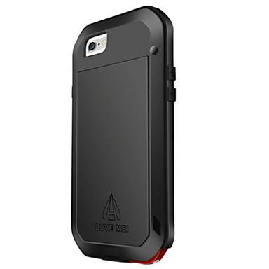 Corpo Completo Impermeável / À Prova de Impacto Cor Única Metal Duro Case Capa Para Apple iPhone 6s Plus/6 Plus / iPhone 6s/6
