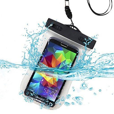 [$3.99] Case For Universal Waterproof with Windows Pouch Bag Solid Color Soft PC for S6 edge S6
