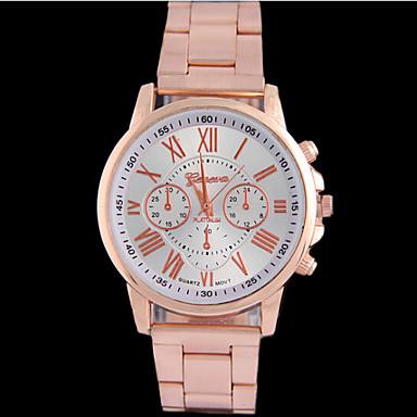 Mulheres Relógio de Moda Relógio Casual Quartzo Lega Banda Prata Dourada Ouro Rose Dourado Prata Ouro Rose