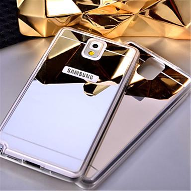 Capinha Para Samsung Galaxy Samsung Galaxy Note Espelho Capa traseira Côr Sólida Acrílico para Note 5 Note 4 Note 3