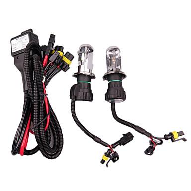 voordelige Autokoplampen-2pcs H4 Automatisch Lampen 55W 2800lm 2 HID Xenon Koplamp