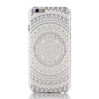 Pouzdro Uyumluluk Apple iPhone 7 / iPhone 7 Plus / iPhone 6 Plus Şeffaf / Temalı Arka Kapak Mandala Sert PC için iPhone 7 Plus / iPhone 7 / iPhone 6s Plus