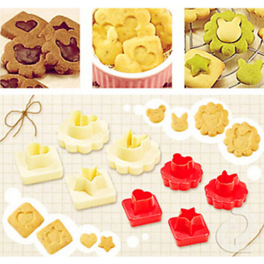 Cortadores de Bolos e Bolachas Pão / Bolo / Biscoito / Chocolate