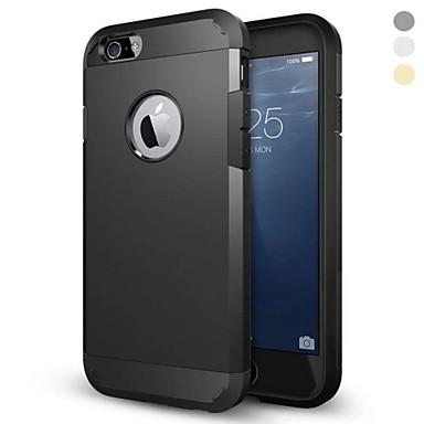 Pouzdro Uyumluluk Apple iPhone 6 Plus / iPhone 6 Şoka Dayanıklı Arka Kapak Zırh Sert PC için iPhone 6s Plus / iPhone 6s / iPhone 6 Plus