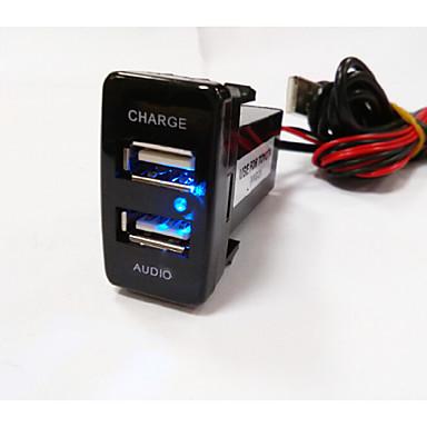 LED kijelző Autós MP3 FM modulátor 1 USB port Csak töltő DC 5V 2A ... 79d5460715