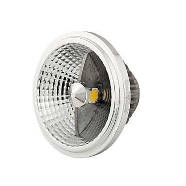GU10 LED 스팟 조명 MR16 2 COB 1200 lm 내추럴 화이트 장식 AC 100-240 V 1개