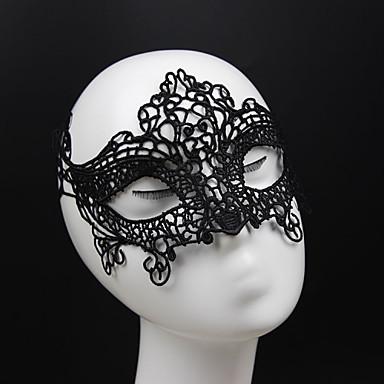 Mulheres Vintage Elegant Renda Máscara