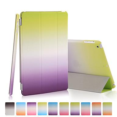 Capinha Para iPad 4/3/2 Origami Capa Proteção Completa Cores Gradiente PU Leather para iPad 4/3/2