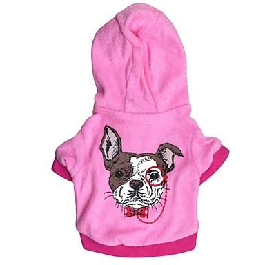 كلب هوديس ملابس الكلاب أرنب أحمر أزرق البوليستر كوستيوم للحيوانات الأليفة للرجال للمرأة كاجوال / يومي