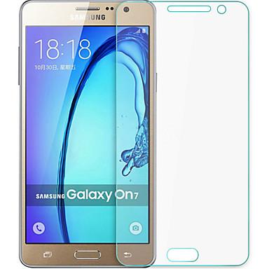 explosieveilige premium gehard glas filmdoek beschermkap 0,3 mm gehard membraan boog voor de Samsung Galaxy on7