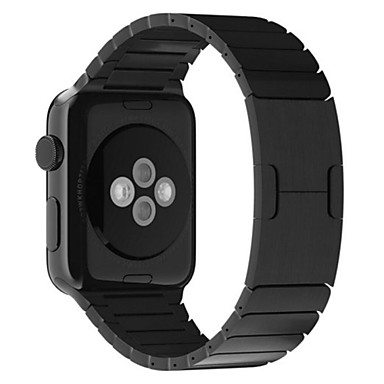 Urrem for Apple Watch Series 4/3/2/1 Apple Sommerfugle Spænde Rustfrit stål Håndledsrem