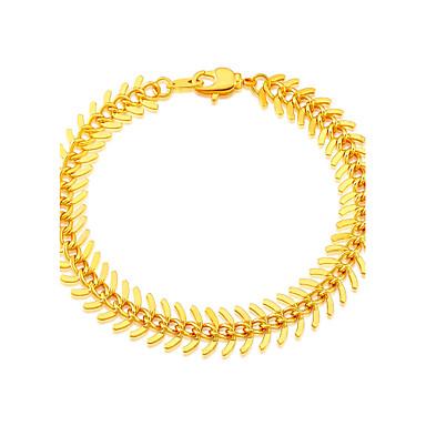 Heren Dames Armbanden met ketting en sluiting Uniek ontwerp Modieus Verguld Sieraden Sieraden Voor Bruiloft Feest Dagelijks Causaal Sport