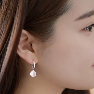 Dames Parel Druppel oorbellen - Modieus Wit oorbellen Voor Dagelijks