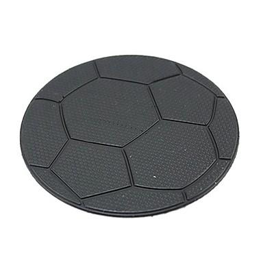 ziqiao do painel do carro padrão de futebol pegajosa antiderrapante titular mat almofada anti telemóvel gps itens interiores acessórios