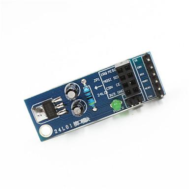 placa nRF24L01 sem fios soquete do módulo placa adaptadora para arduino + pi framboesa - azul