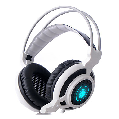 sades 마이크와 3.5mm의 PC 게임 귀를 통해 헤드셋 스테레오 게이밍 헤드폰을 arcmage& 음량 조절