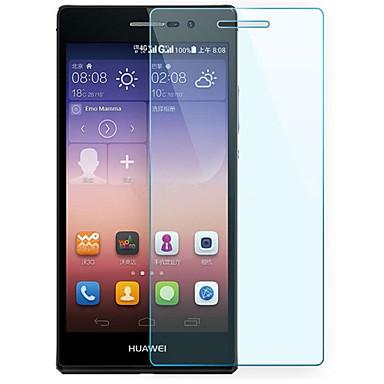 explosieveilige premium gehard glas filmdoek beschermkap 0,3 mm gehard membraan boog voor Huawei p7