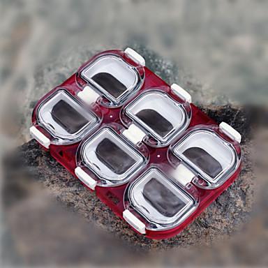 Caixas de Pesca Caixa de Gancho Impermeável 1 Bandeja Plástico 11 1.2