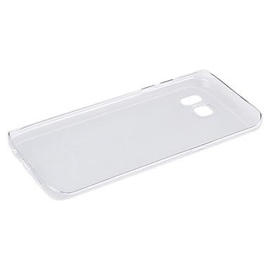 Para Samsung Galaxy S7 Edge Transparente Capinha Capa Traseira Capinha Cor Única TPU Samsung S7 edge / S7