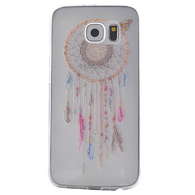 hoesje Voor Samsung Galaxy Samsung Galaxy hoesje Transparant Achterkant Dromenvanger TPU voor S6 S5