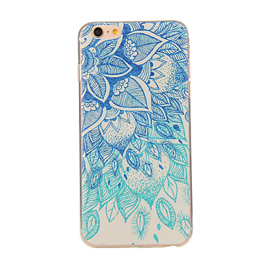 Voor iPhone 8 iPhone 8 Plus iPhone 6 iPhone 6 Plus Hoesje cover Patroon Achterkantje hoesje Mandala Zacht TPU voor iPhone 7s Plus iPhone