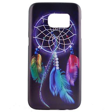 Para Samsung Galaxy S7 Edge Case Tampa Estampada Capa Traseira Capinha Apanhador de Sonhos PC para Samsung Galaxy S7 edge S7