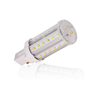 LEDun 100 lm G24 Lâmpadas Espiga T 40 leds SMD 2835 Decorativa Branco Quente Branco Natural AC 85-265V