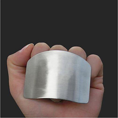 roestvrij staal vinger de hand protector guard chop slice keukenmes hulpmiddel gadget