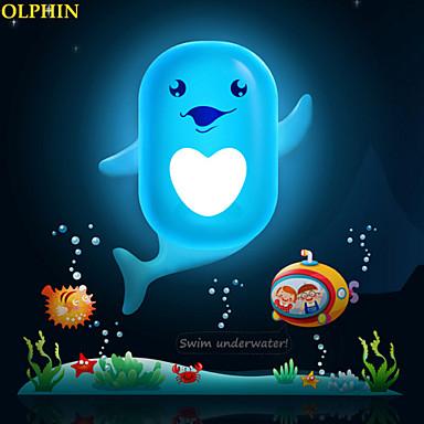 mooie cartoon wallpaper lamp licht gecontroleerd noodsituatie geleid nacht licht voor kinderkamer woninginrichting (assorti kleur)