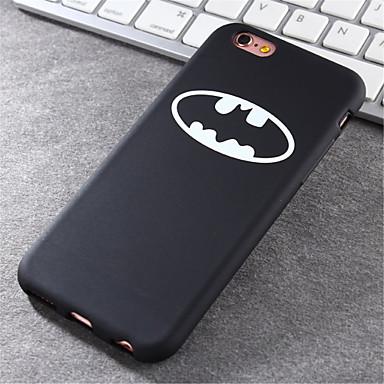 padrão batboy caso de material TPU shell maré de telefone para iPhone 6 Plus / 6s mais