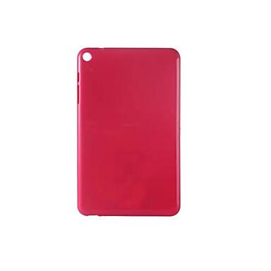 hoesje Voor Huawei Achterkant tablet Cases Effen Kleur Zacht TPU voor