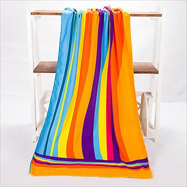 신선한 스타일 비치 타올, 대응 인쇄 뛰어난 품질 100% 폴리에스테르 뜨개질됨 수건