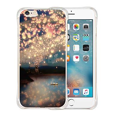 케이스 제품 Apple iPhone 6 iPhone 6 Plus 패턴 뒷면 커버 풍경 소프트 실리콘 용 iPhone 6s Plus iPhone 6s iPhone 6 Plus iPhone 6