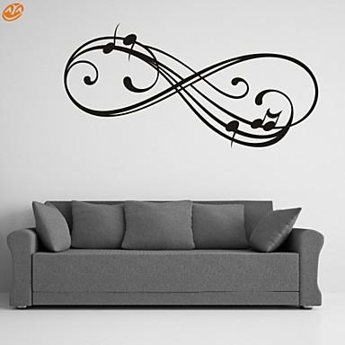 Mondások & Idézetek / Romantika / Divat / Absztrakt / Fantasy Falimatrica Repülőgép matricák,PVC M:42*86cm/ L:55*112cm