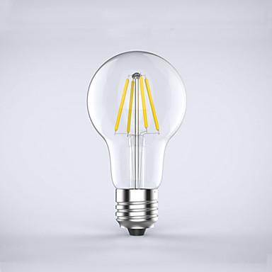 E26/E27 LED필라멘트 전구 A60(A19) 4 LED가 COB 방수 장식 따뜻한 화이트 차가운 화이트 400lm 2700K AC 220-240V