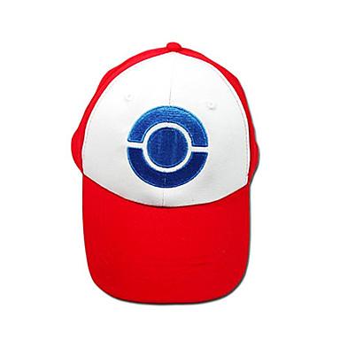 Pălărie / Șapcă Inspirat de Pocket Little Monster Ash Ketchum Anime / Jocuri Video Accesorii Cosplay Șapcă / Pălărie Terilenă Bărbați Costume de Halloween