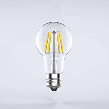1pc 7W 750 lm E26/E27 Ampoules à Filament LED A60(A19) 8 diodes électroluminescentes COB Imperméable Décorative Blanc Chaud Blanc Froid