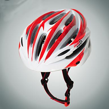 Acacia 자전거 헬멧 18 통풍구 싸이클링 조절가능 도시의 산 울트라 라이트 (UL) 스포츠 PVC EPS 도로 사이클링 레크리에이션 사이클링 등산 사이클링 / 자전거 산악 자전거