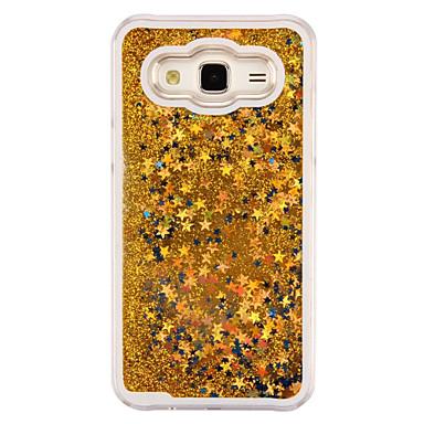 drijfzand fonkelingssterren luxe pc achterkant van de behuizing voor de Samsung Galaxy J5 / J1 / j1 ace / G360 / G530 / 9082 (diverse
