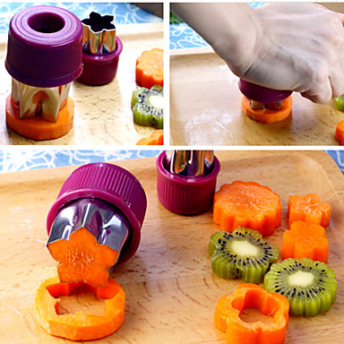 Roestvast staal Creative Kitchen Gadget voor Vegetable Cutter & Slicer