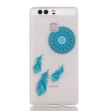 Case Kompatibilitás Huawei P9 Lite P9 P8 Lite Huawei tok Foszforeszkáló Hátlap Álomfogó Puha TPU mert Huawei P9 Huawei P9 Lite Huawei P8