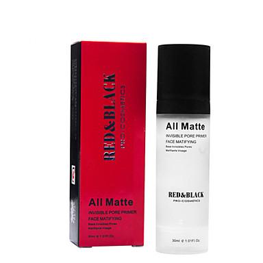 rood&zwarte onzichtbare poriën primer gezicht matifying make-up basis 30ml