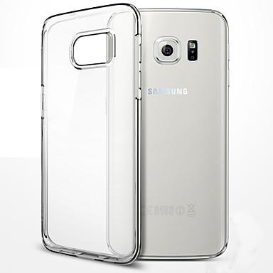 케이스 제품 Samsung Galaxy Samsung Galaxy S7 Edge 투명 뒷면 커버 한 색상 TPU 용 S8 Plus S8 S7 edge S7 S6 edge plus S6 edge S6