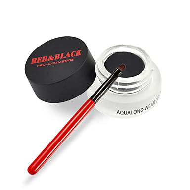 Κόκκινο & Μαύρο Άιλαινερ Χακί Mineral / Υγρό Αδιάβροχο / Γρήγορο Στέγνωμα μαύρο fade / Κόκκινο / Δερματί