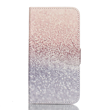 Case For Samsung Galaxy Samsung Galaxy S7 Edge Card Holder Wallet with Stand Flip Full Body Cases Glitter Shine PU Leather for S7 plus S7