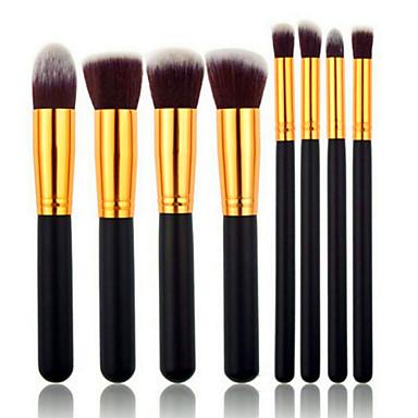 8pcs Makyaj fırçaları Profesyonel Fırça Setleri Sentetik Saç / Suni Fibre Fırça Orta Fırça / Küçük Fırça