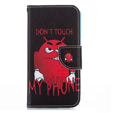 Mert iPhone 6 tok / iPhone 6 Plus tok Pénztárca / Állvánnyal / Flip Case Teljes védelem Case Rajzfilmfigura Kemény MűbőriPhone 6s Plus/6