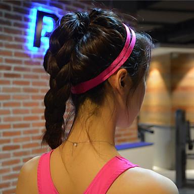 nők férfiak jóga haj zenekarok sportok fejpánt csúszásmentes rugalmas gumi sweatband labdarúgó jóga futó kerékpározás